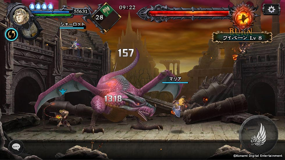 Castlevania: Grimoire of Souls Announced by Konami for iOS; First Screenshots Released