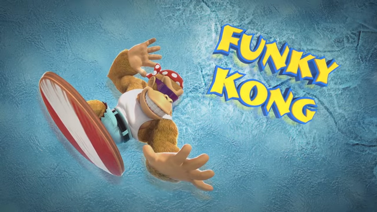 Donkey Kong Country: Tropical Freeze Funky Kong