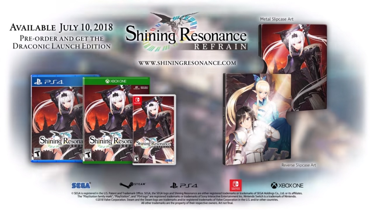 Shining Resonance Refrain is out this summer