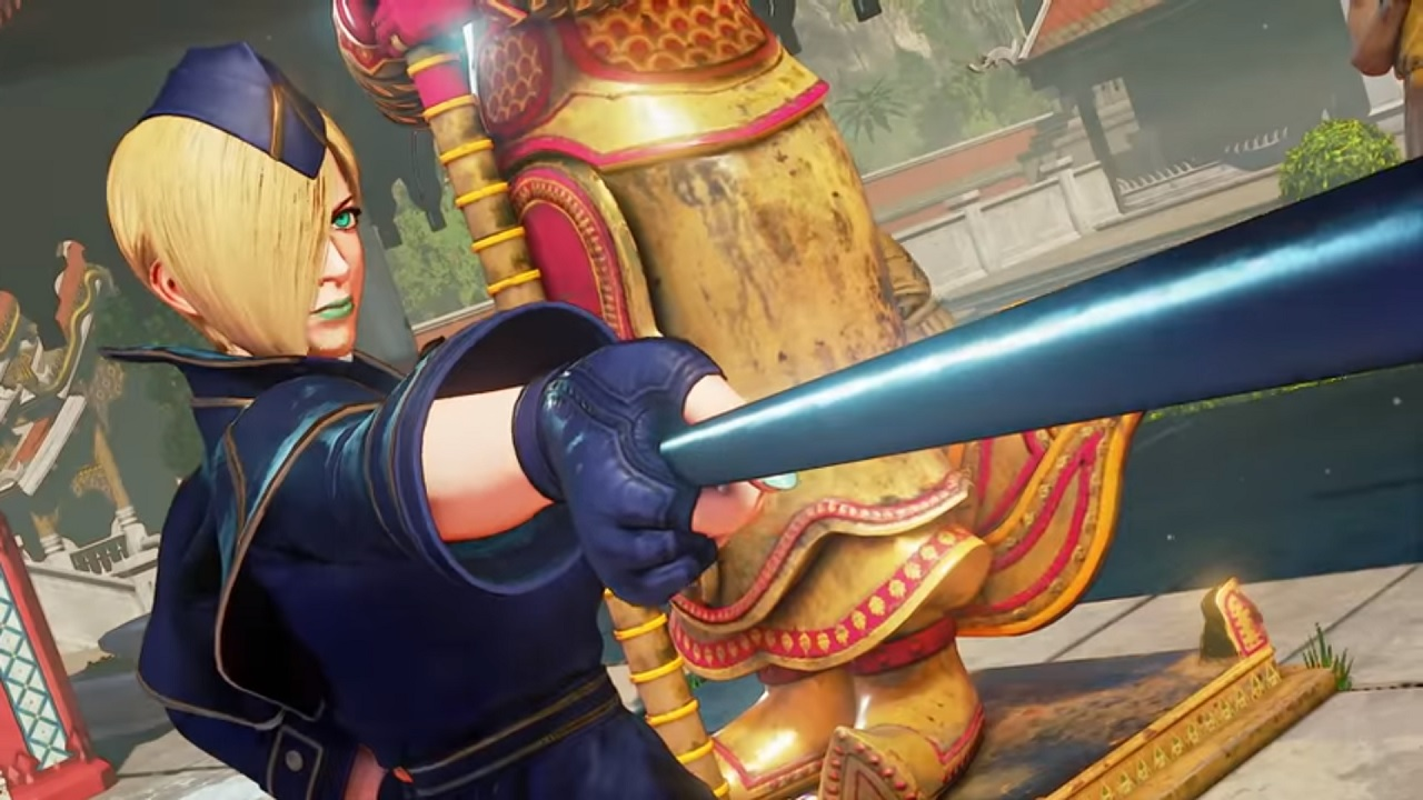 Falke Shoots into Street Fighter V Next Week