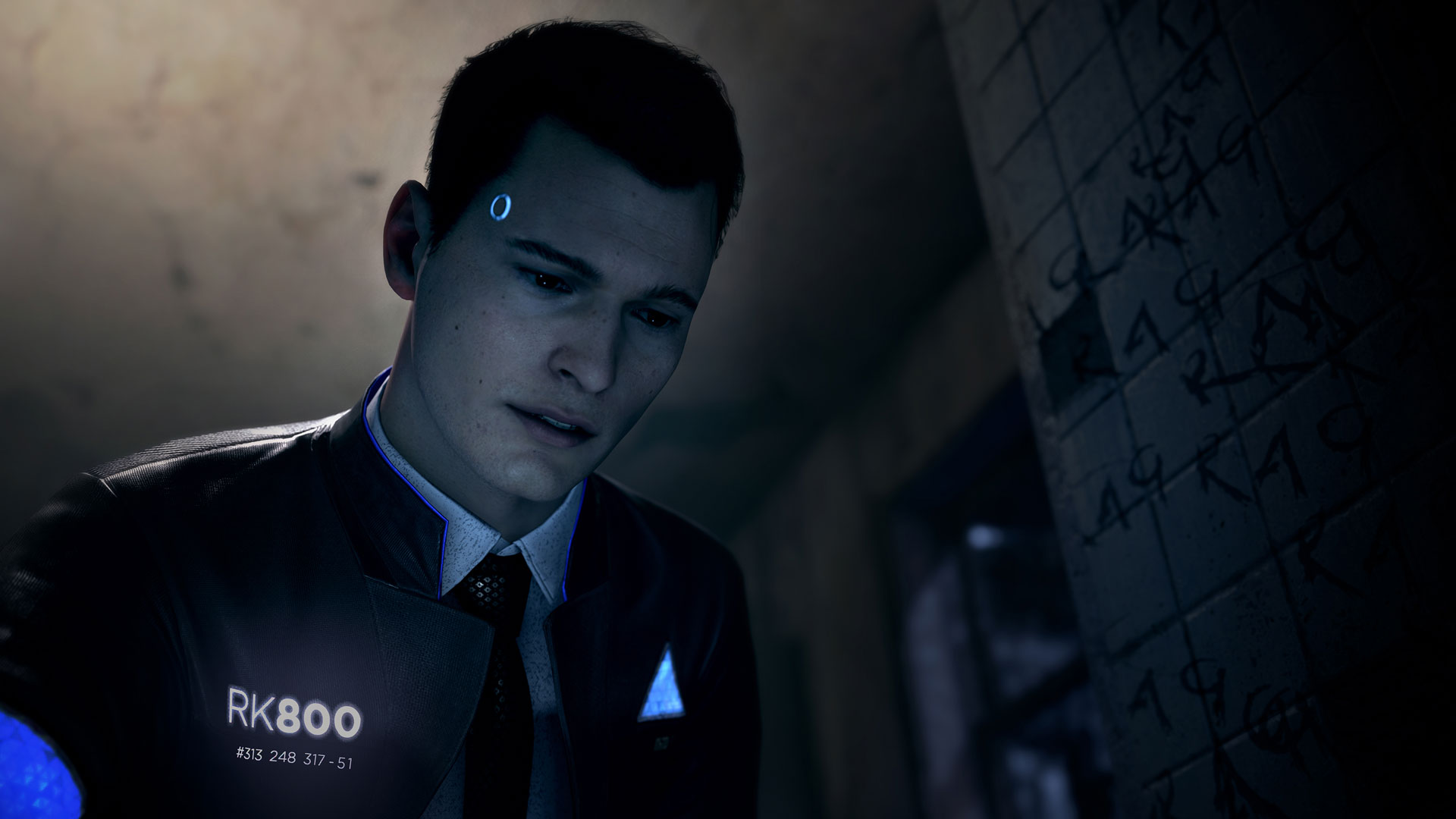 Connor Detroit Become Human Wallpaper: Detroit: Become Human Has Potential But It Targets A