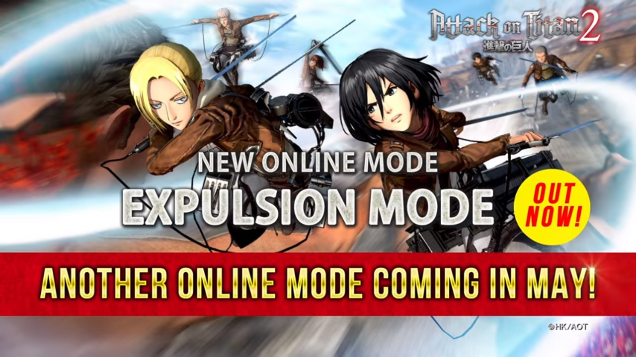 Attack On Titan 2 Expulsion Mode