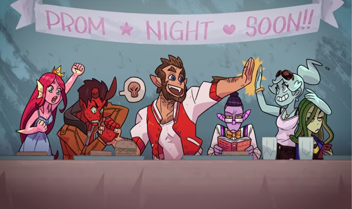 Monster Prom group