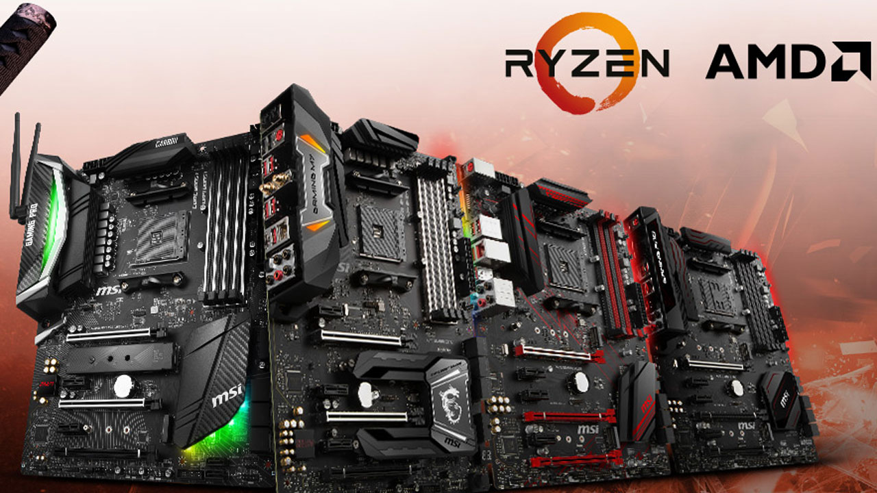 Msi Releases Am4 X470 Gaming Lineup For New Amd Processors