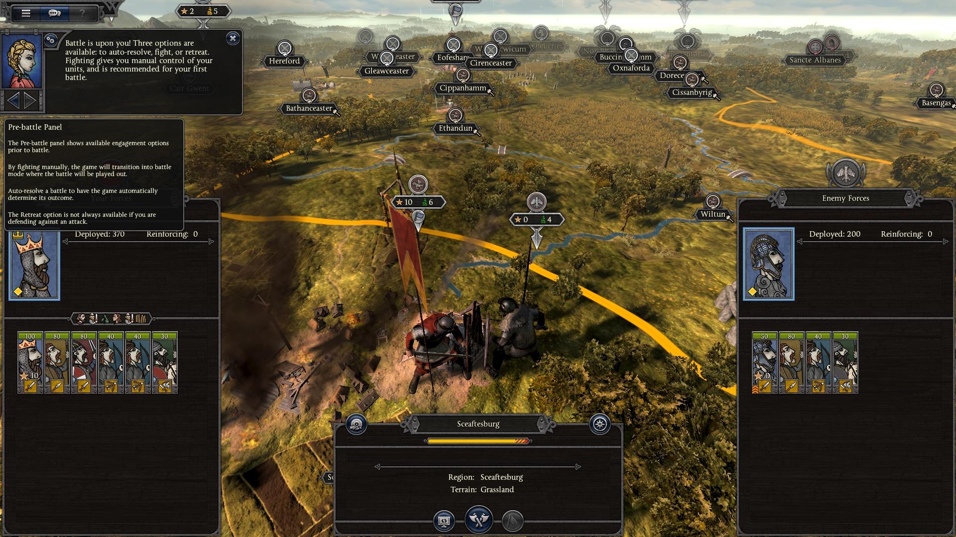 A Total War: Thrones of Britannia
