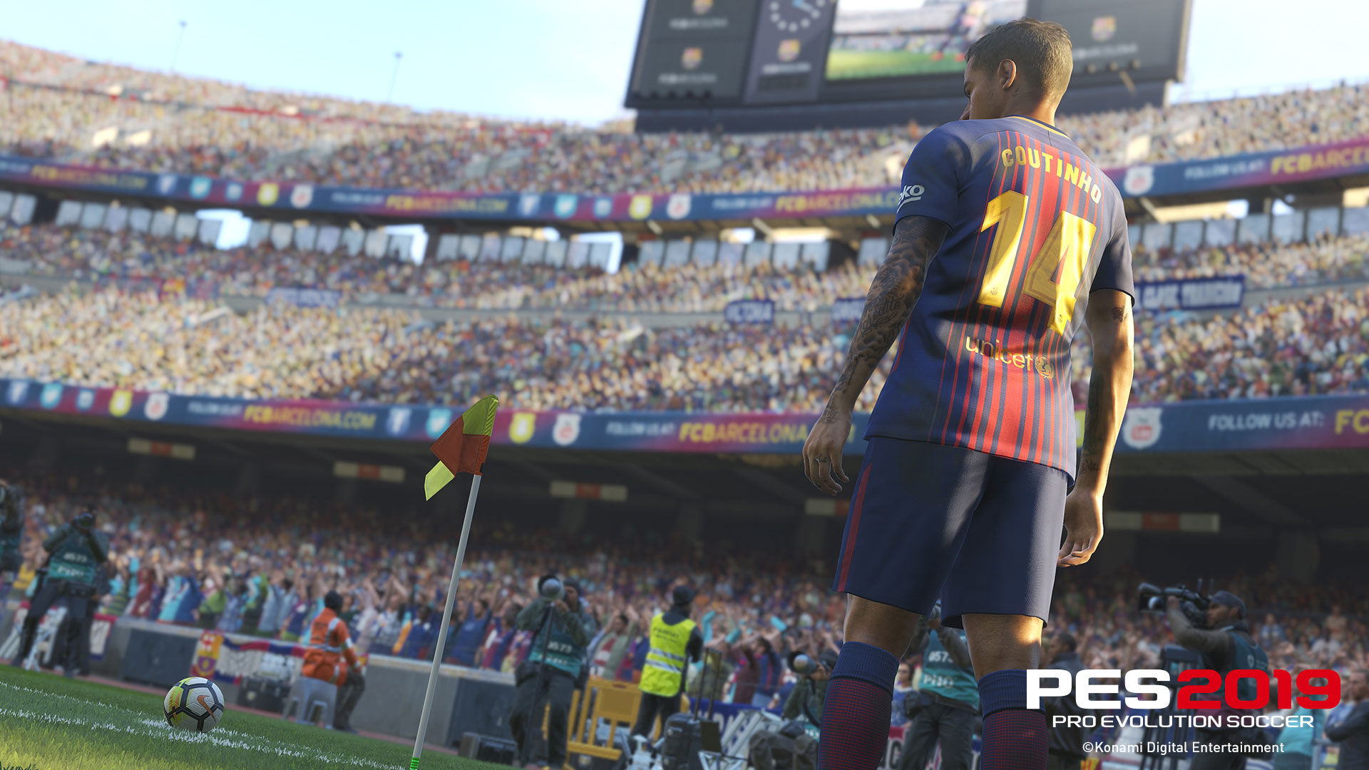 PES 2019 Officially Launches Later This Year