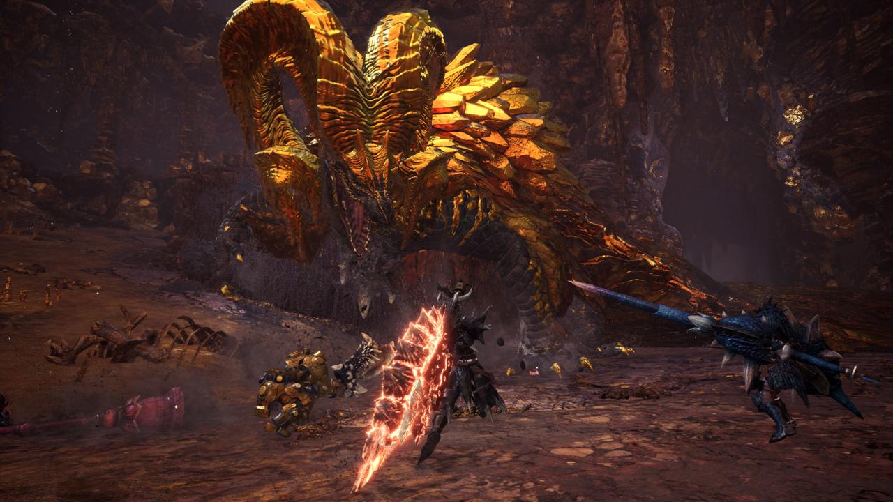 Monster Hunter World fight