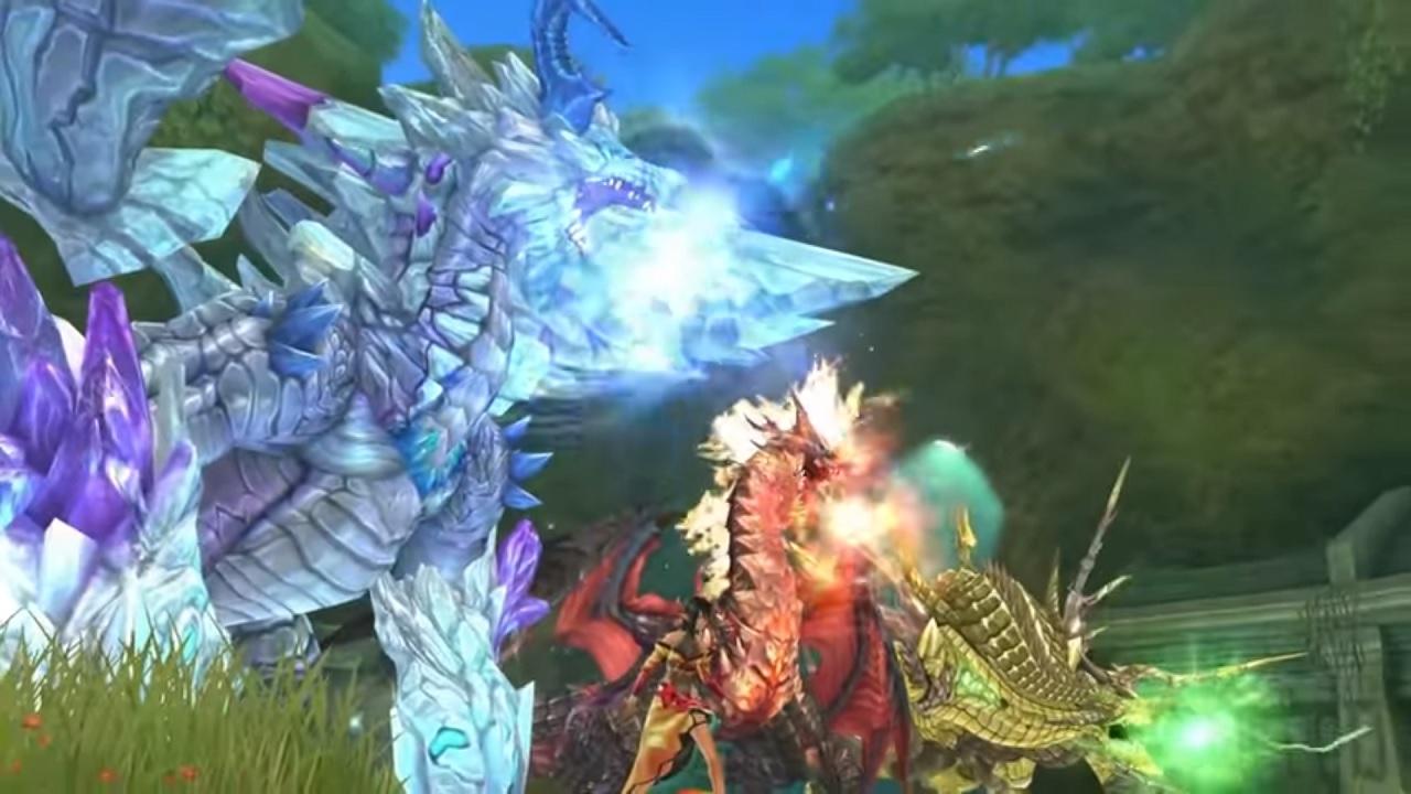 Shining Resonance Refrain dragons