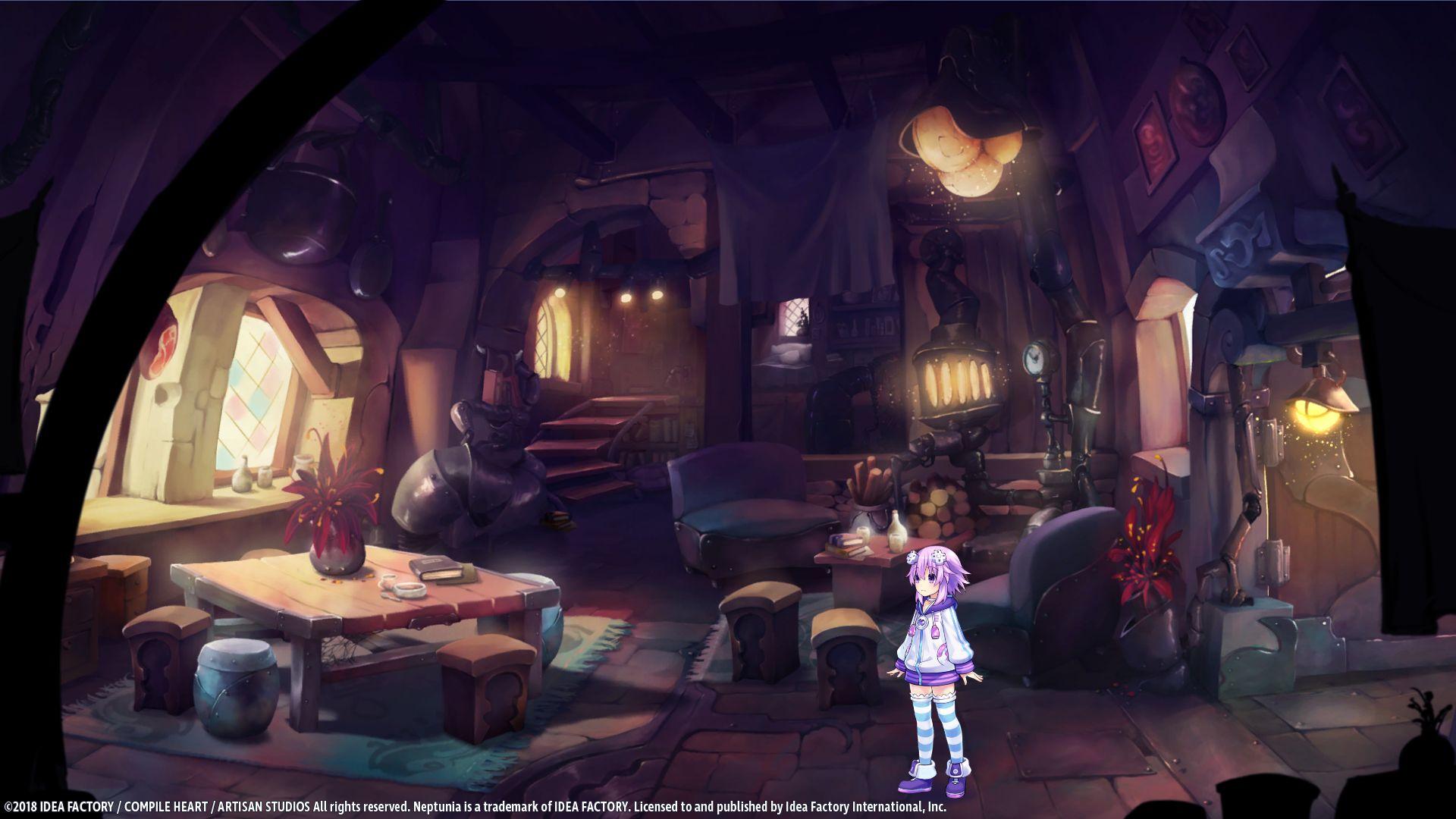 Super Neptunia RPG gameplay