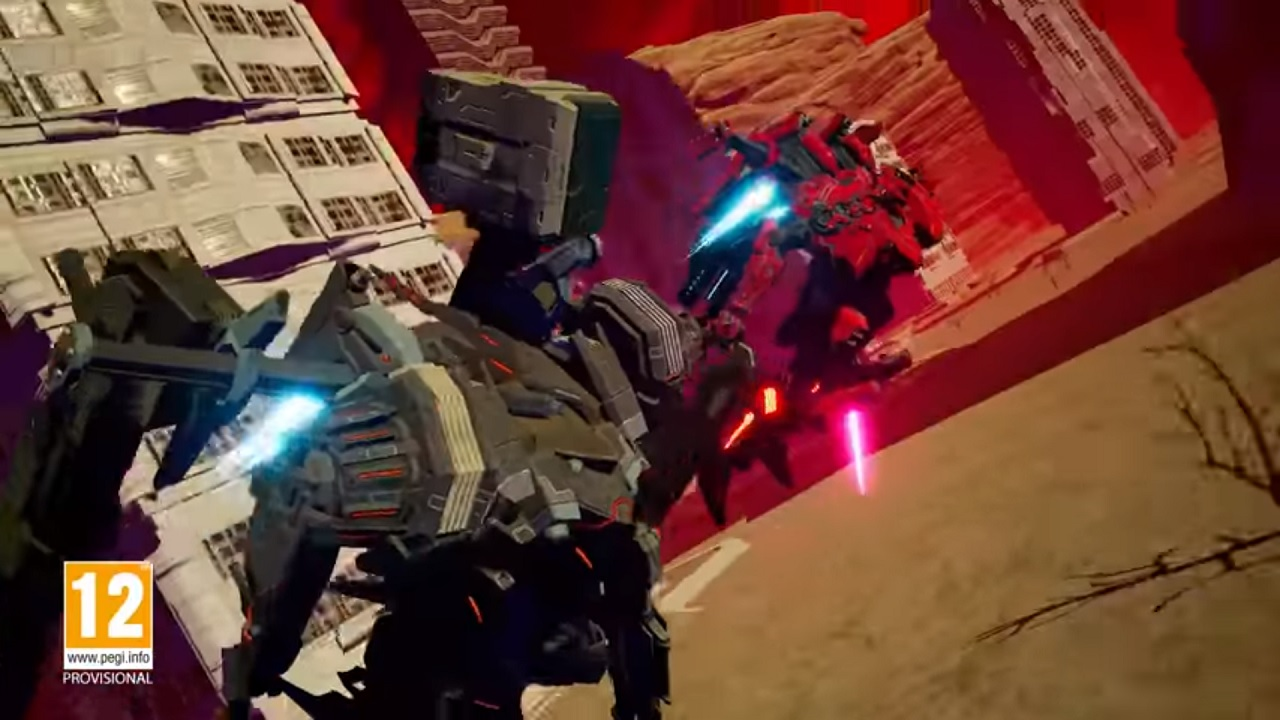 Daemon X Machina mecha action
