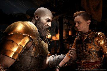 God of War kratos atreus