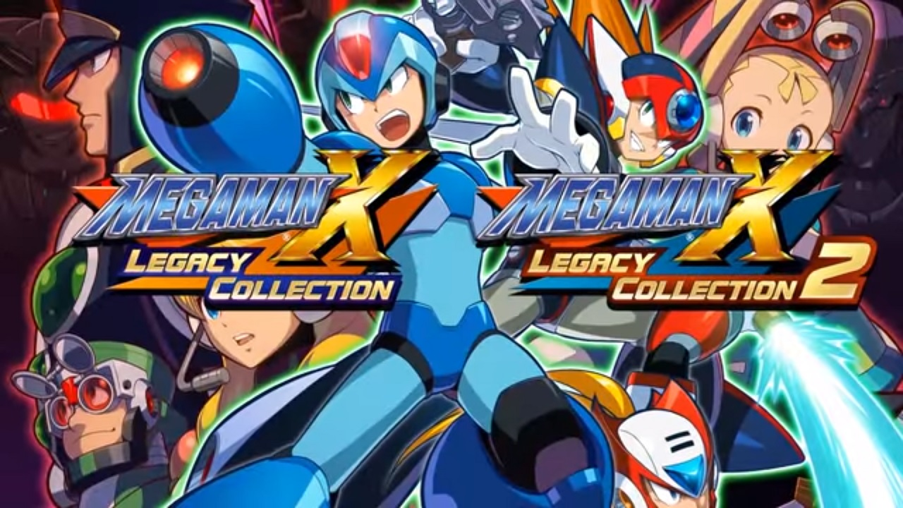 mega man x legacy collection 1 and 2 gets rookie hunter mode