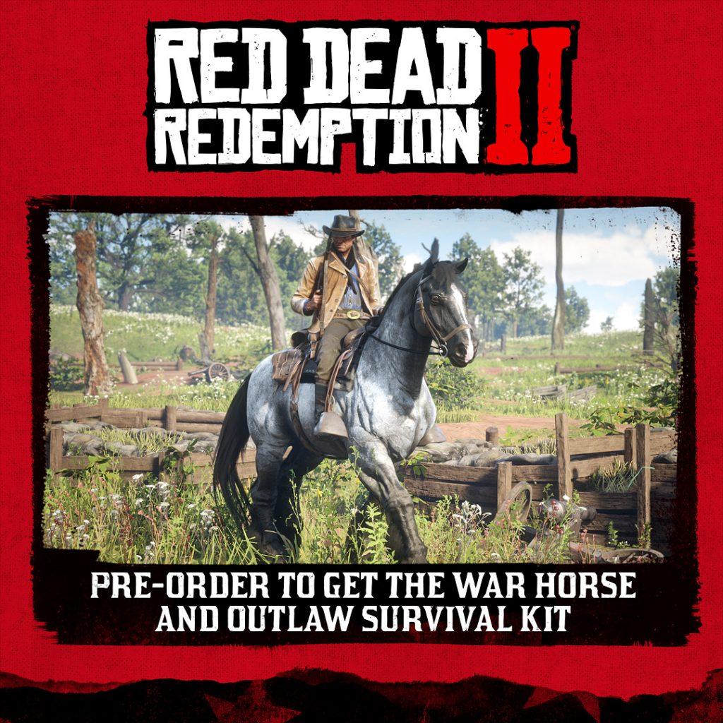 Red Dead Redemption 2 pre order