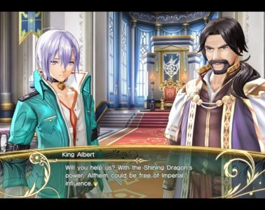 Shining Resonance Refrain dialogue