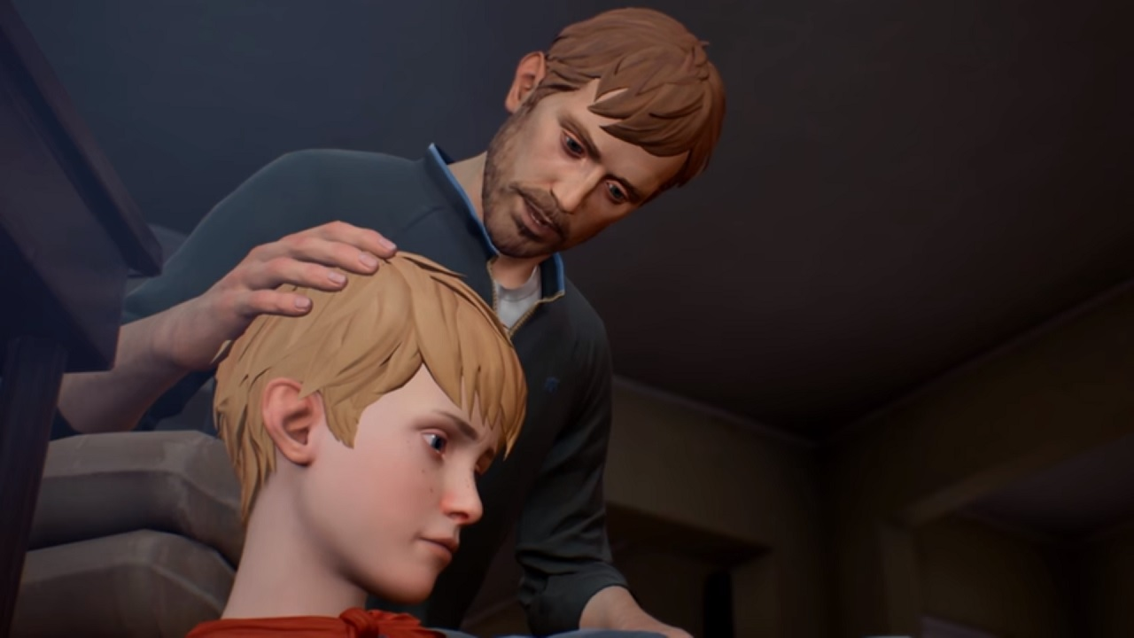 The Awesome Adventures of Captain Spirit father and son