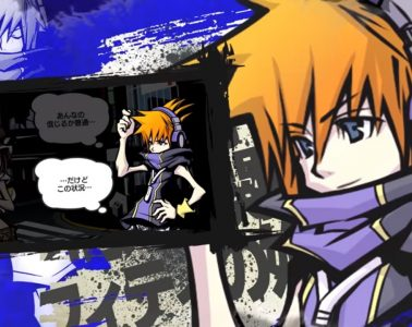 The World Ends With You: Final Remix male character