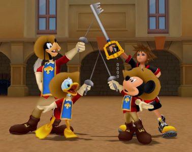Kingdom hearts 1 the whole gang