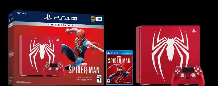 Marvel's Spider-Man PS4 Pro bundle