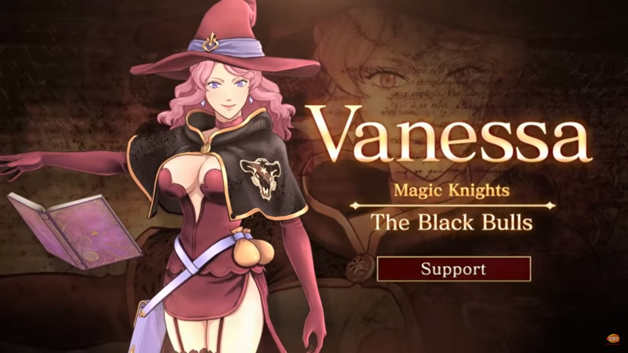 Black Clover: Quartet Knights Vanessa