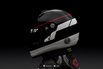 Gran Turismo Sport Helmet decals