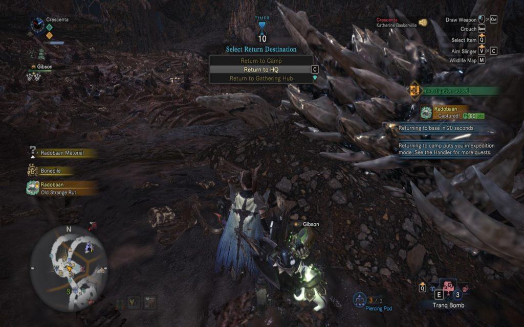 Monster Hunter World Capturing Tips