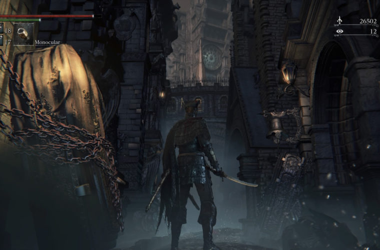 Bloodborne Opening Cinematic Location Found In Game By Player