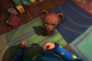 Among the Sleep creepy teddy