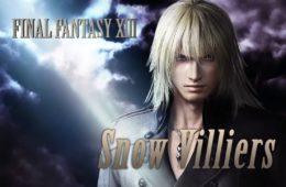 Dissidia Final Fantasy NT Snow Villiers
