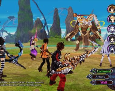 Fairy Fencer F: Advent Dark Force team