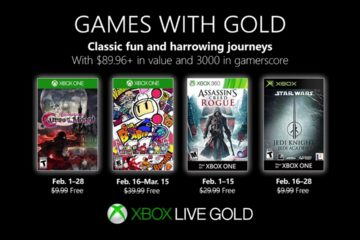 Xbox Games with Gold Feb 2019 lineup
