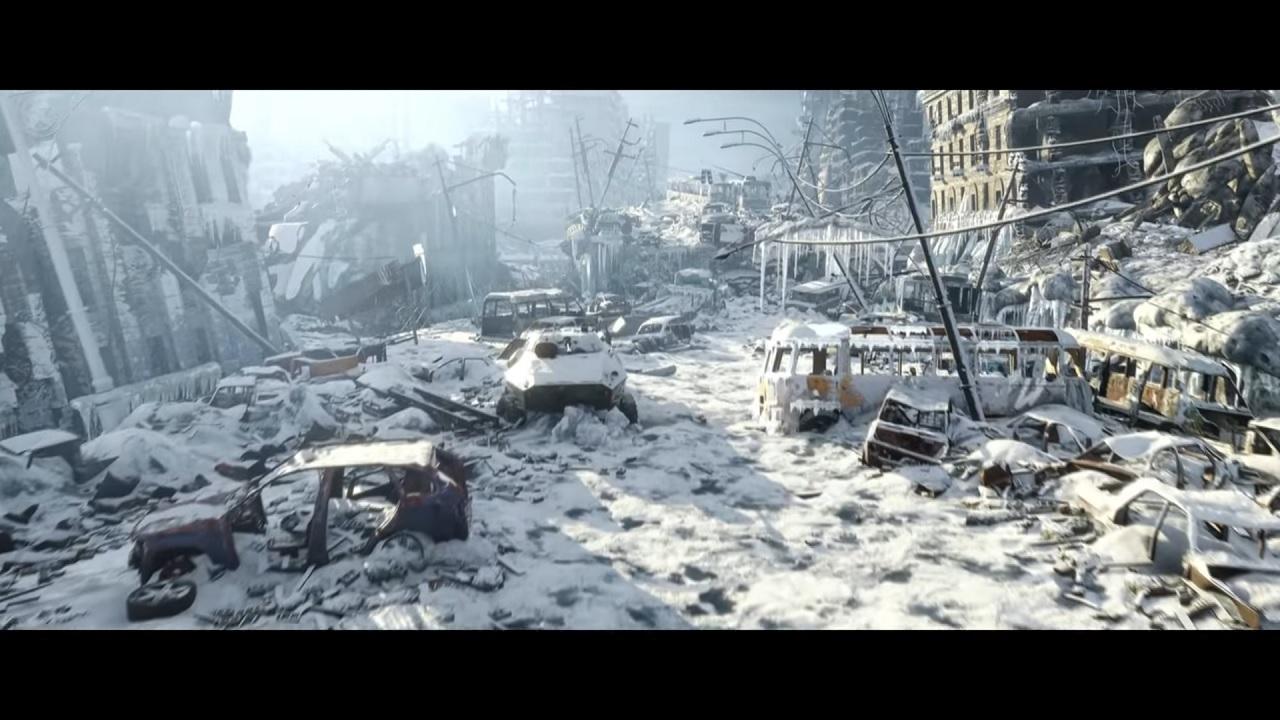 Metro Exodus snowy landscape