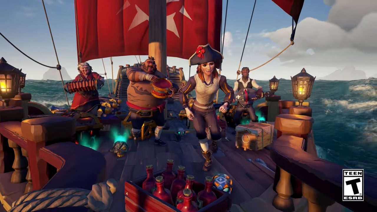 Sea Of Thieves Allows Players Invite Friends To Play One Week Free