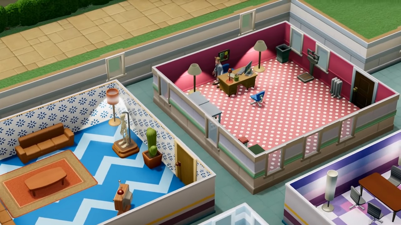 Two Point Hospital customization