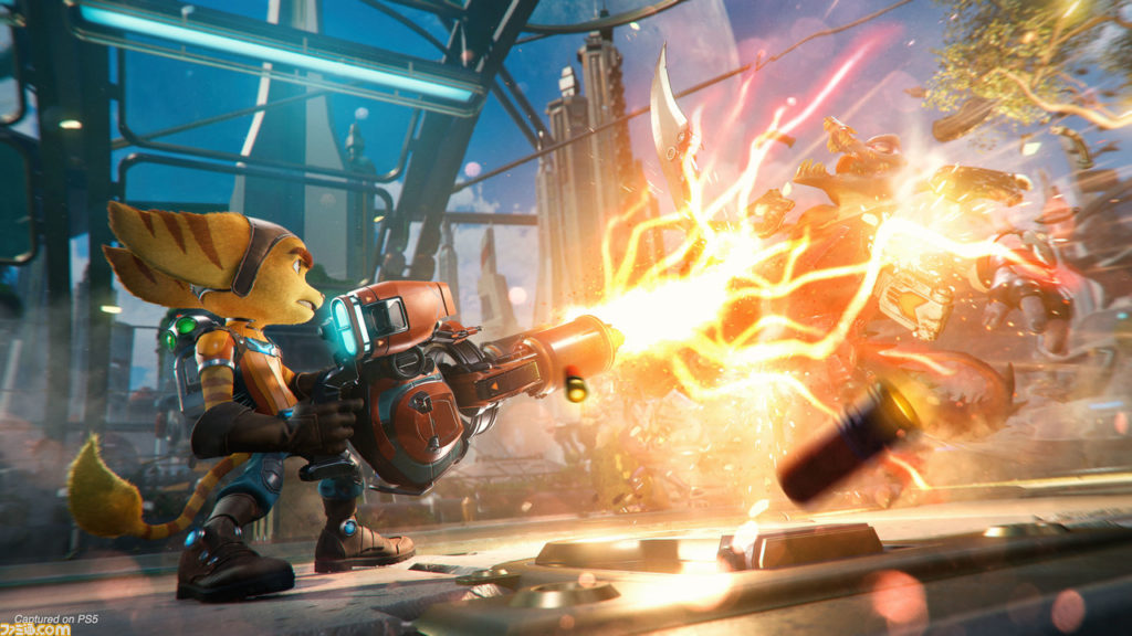 Ratchet and Clank: Rift Apart First four weapons detailed