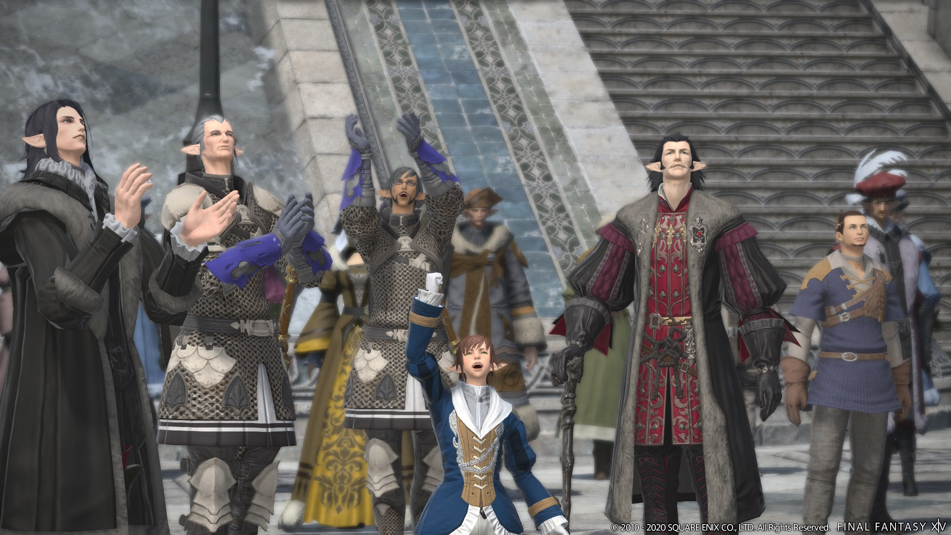 Final Fantasy XIV Online World Visit system has just been temporarily suspended
