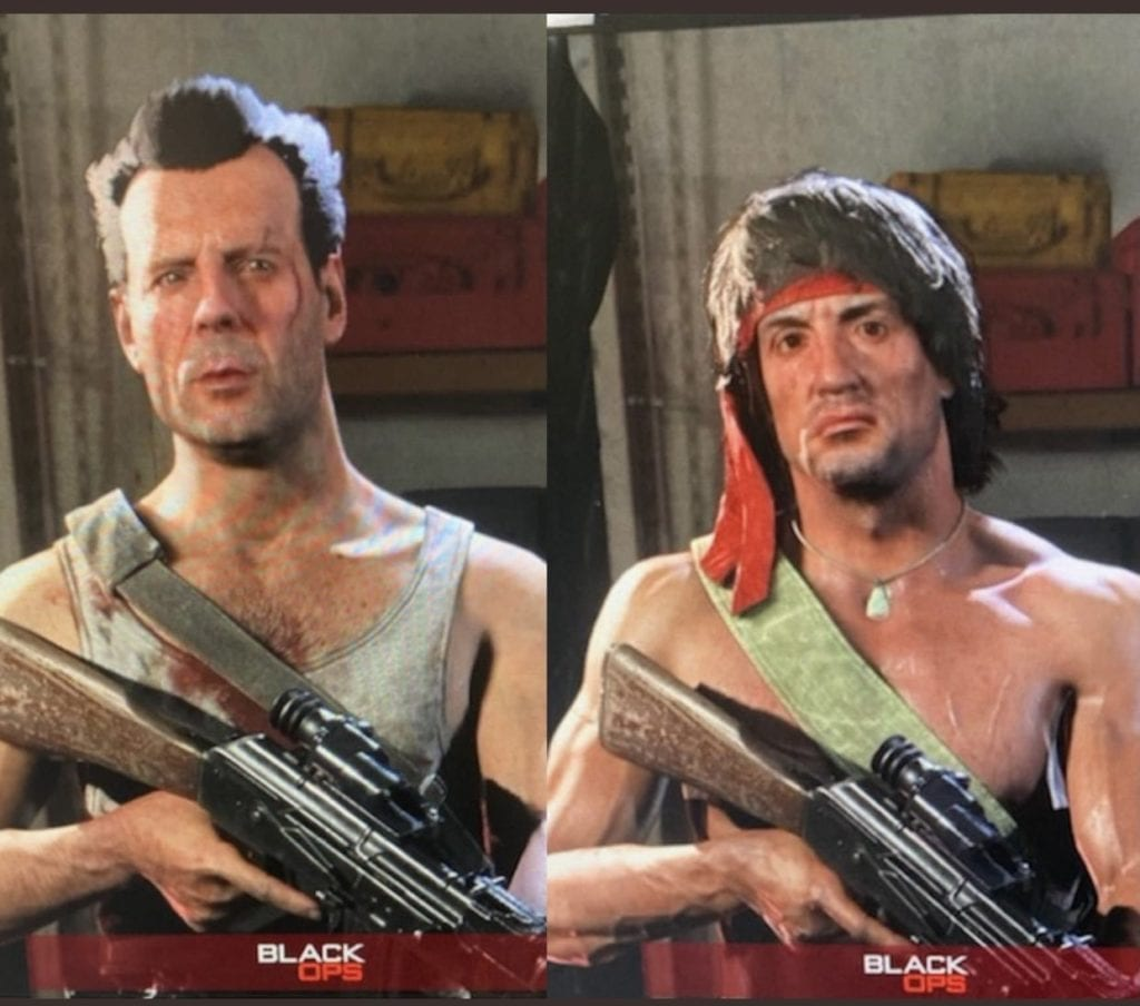 Call of Duty Warzone Rambo and John McClane operators just leaked
