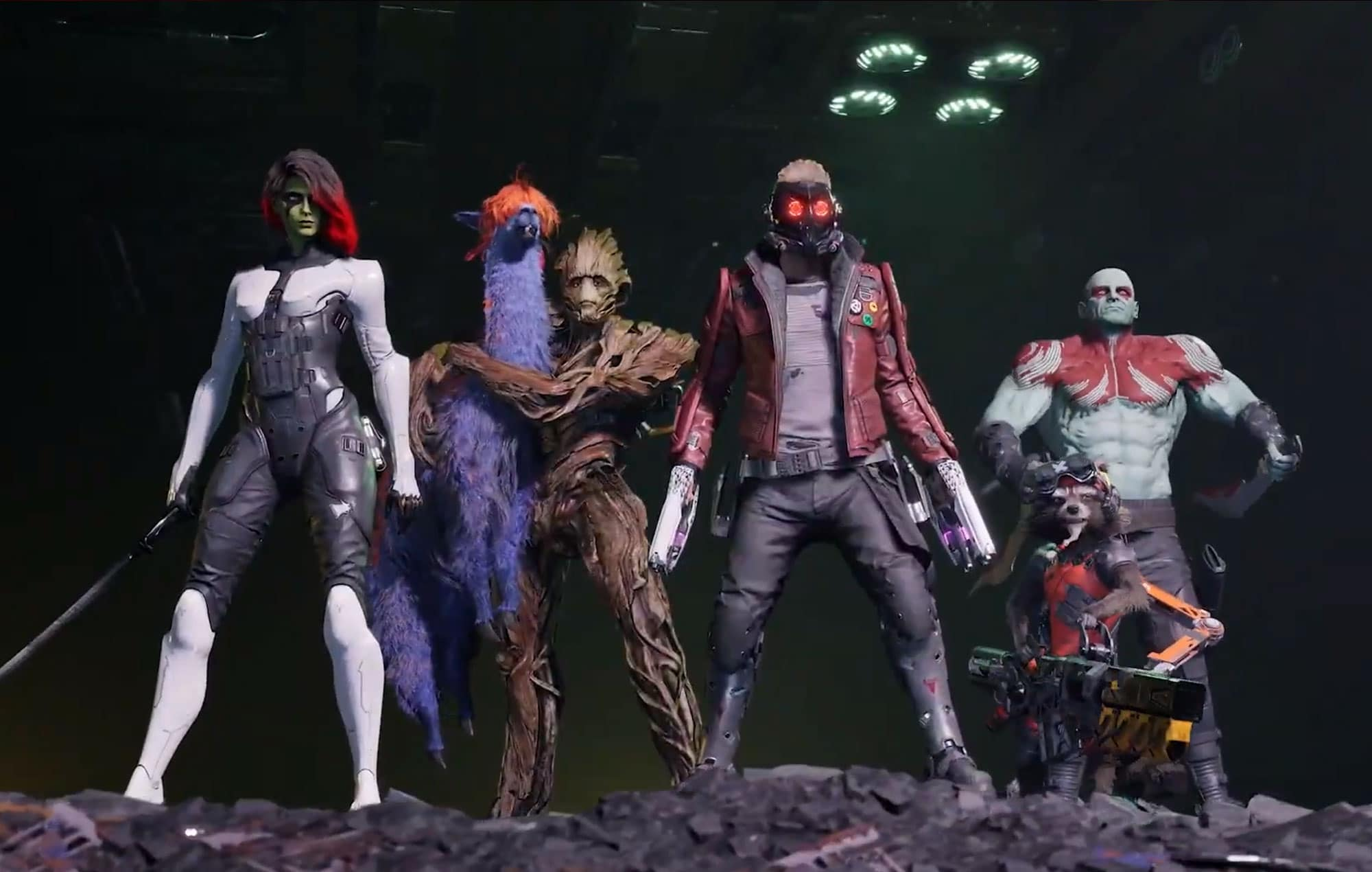 Marvel's Guardians of the Galaxy Devs Wanted Everything Available from Start