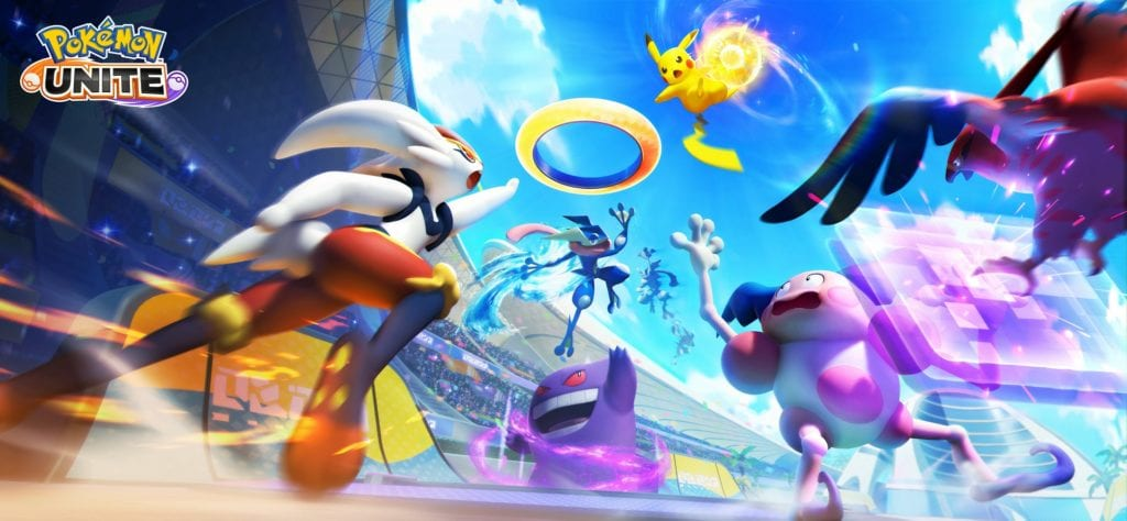 Pokemon Unite gets new server update that fixes bugs, texts and more