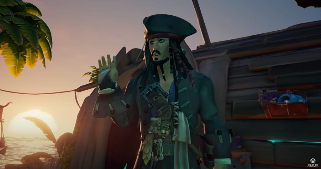 How Jack Sparrow ended up in Sea of Thieves