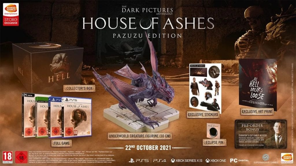 The Dark Pictures Anthology: House of Ashes will be released in October 2021