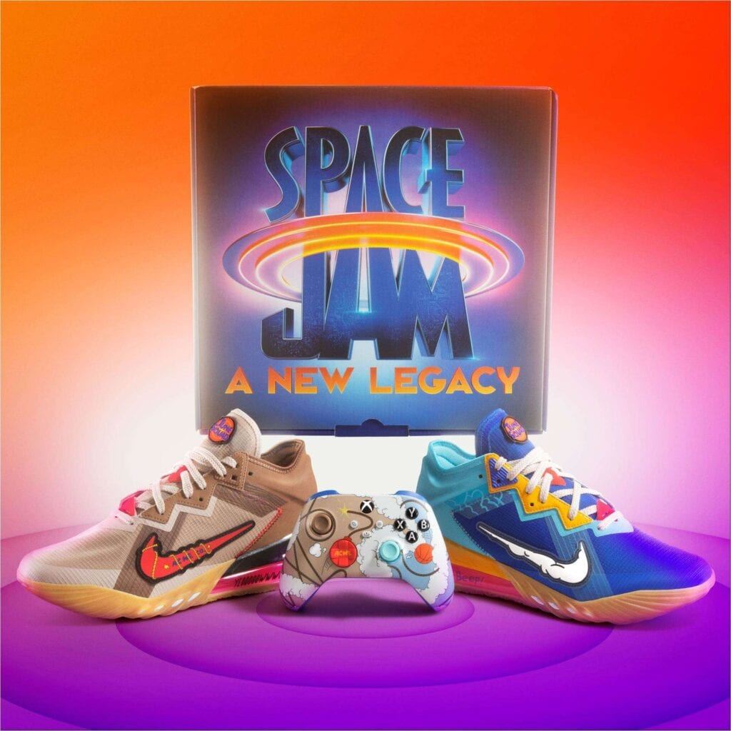 Xbox and Nike Team Up for Exclusive Space Jam: A New Legacy Bundle