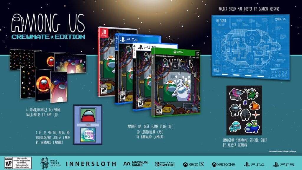 Among Us Collector's Edition has three variations