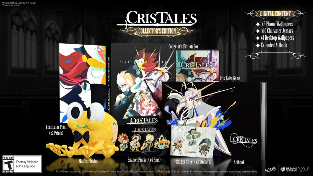 Cris Tales now available on multiple platforms