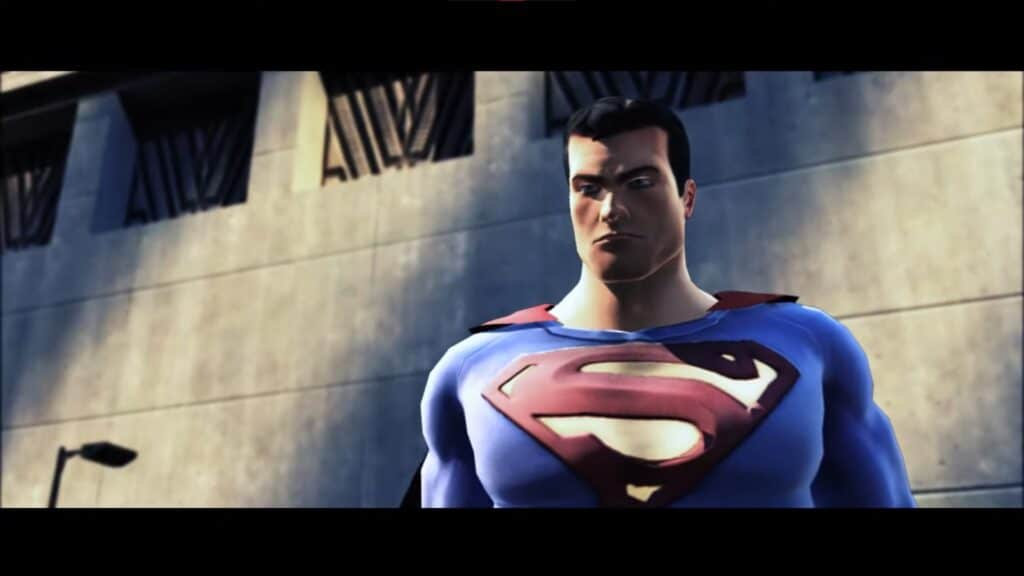 Wrecked Superman game would have done justice to the man of steel