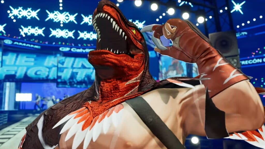 New trailer for The King of Fighters XV featuring the return of The King of Dinosaurs